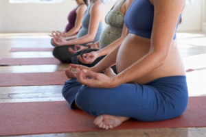 Pregnancy yoga classes in March, Cambs.